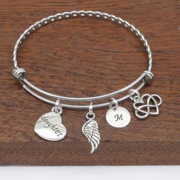 Daughter bereavement bracelet infinity love remembrance memorial